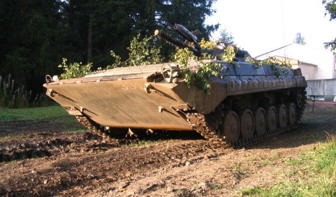 Kettenpanzer BMP