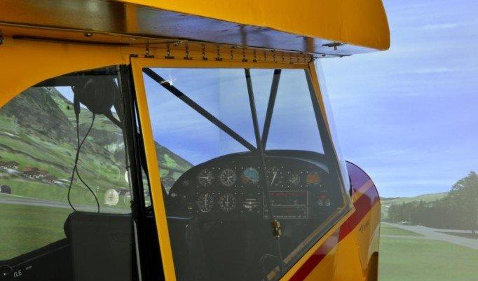 Flugsimulator Piper