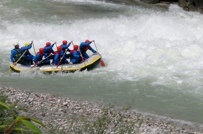Watzmann Rafting für Fortgeschrittene