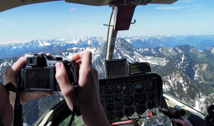 Hubschrauber Rundflug – 30 Minuten in Kempten