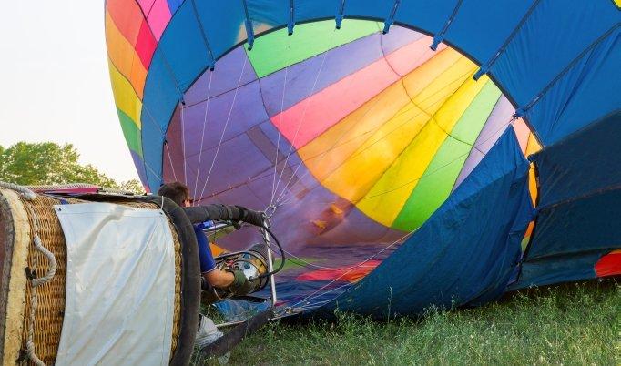 Ballonfahrt für Zwei in Kiel