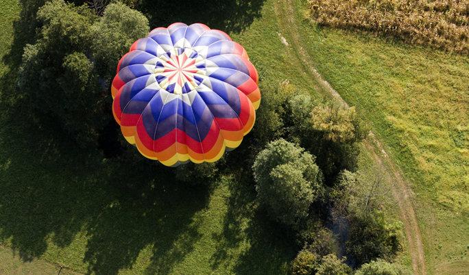 Ballon fahren in Hünfeld