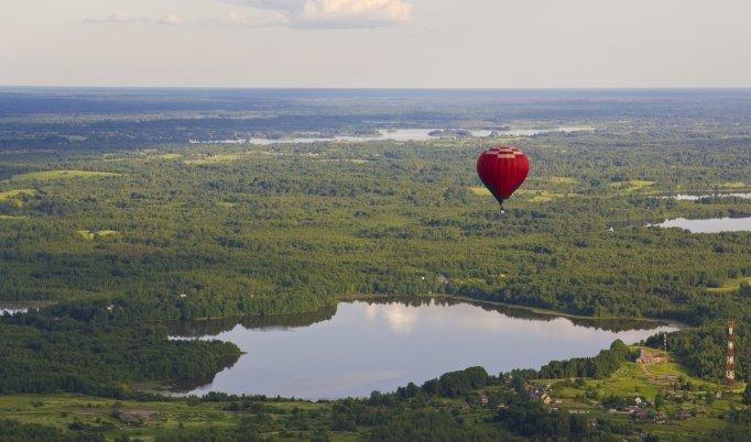 Ballon fahren in Hunsrück