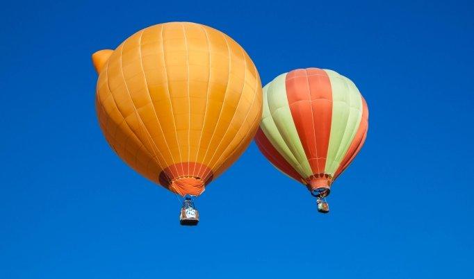 Ballonfahrt über St. Goar.