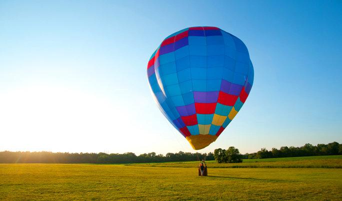 Ballonfahrt in Düren
