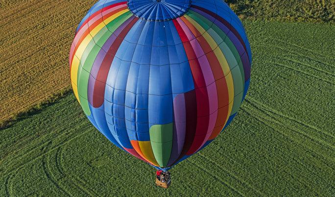 Ballonfahrt in Memmingen
