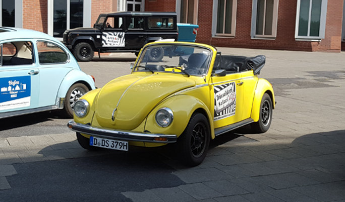 Oldtimer mieten VW Käfer Cabrio fahren
