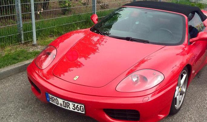 Ferrari selber fahren in Kiel
