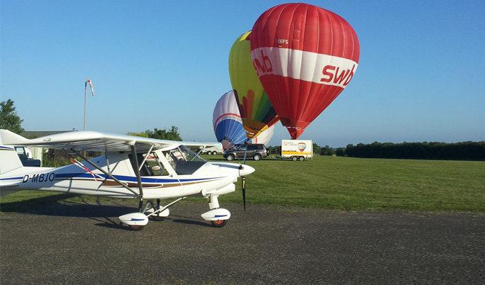 Flugzeug selber fliegen im Cuxland