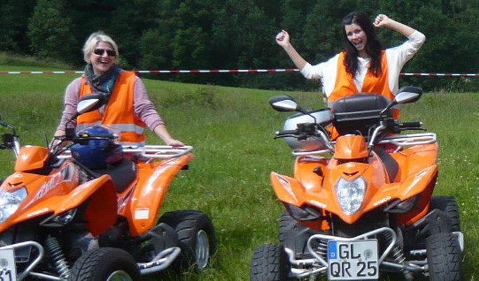 Frauen Quad Tour zum Muttertag verschenken