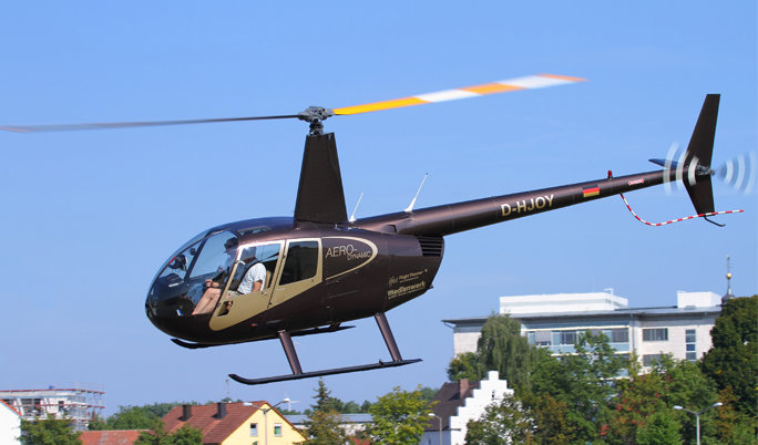Hubschrauber Rundflug für Drei in Neumarkt in der Oberpfalz