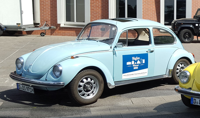 Oldtimer mieten Käfer fahren