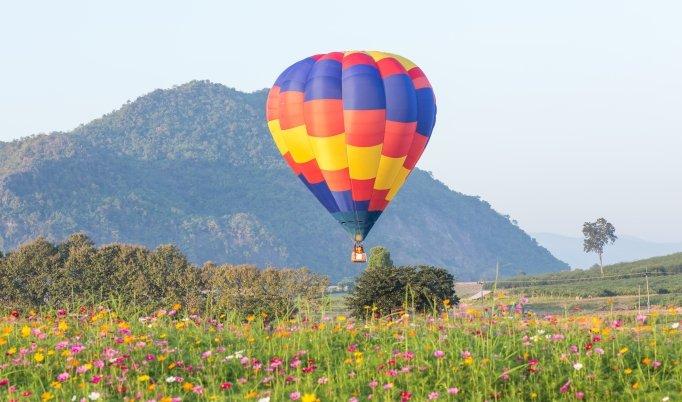 Sonnenaufgangsfahrt Ballonfahren