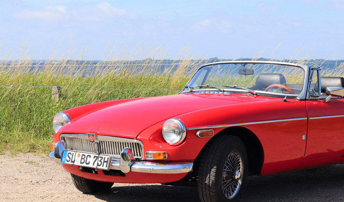 MGB Roadster Front