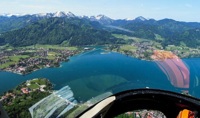 Hubschrauber Rundflug am Bodensee