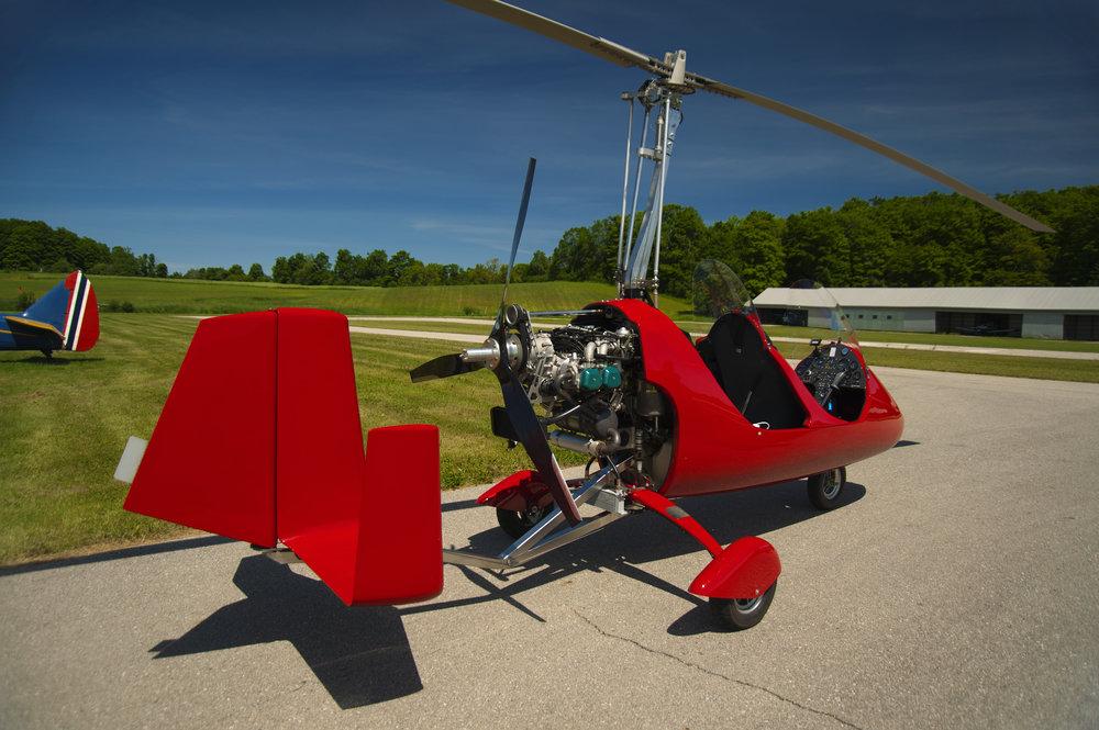 Gyrocopter Flug Diepholz