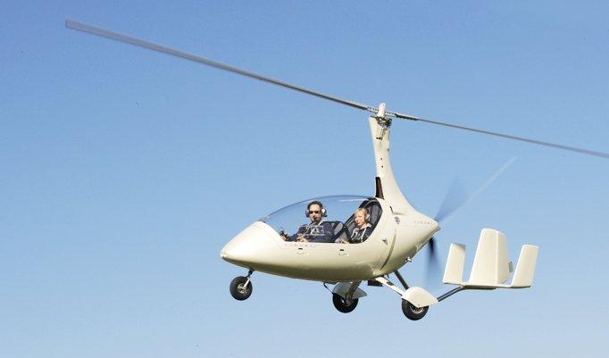 Gyrocopter Rundflug in Uetersen-Heist